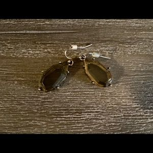 Gray stone earrings from Anthropologie